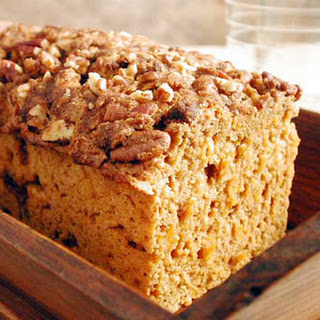 Sweet Potato-Streusel Quick Bread