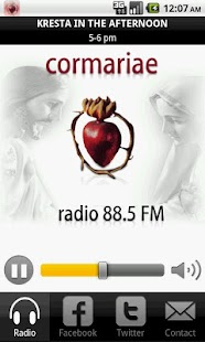 Radio CorMariae- screenshot thumbnail