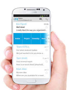 IQTELL Email app and GTD® Screenshot 3