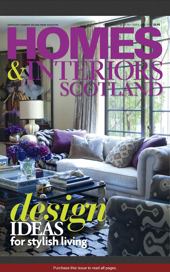 Homes And Interiors Scotland House Design Ideas