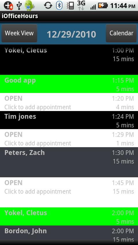 iOfficeHours for Medisoft- screenshot
