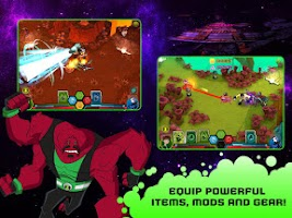 Screenshot of Wrath of Psychobos - Ben 10