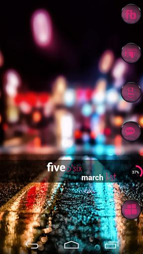 VM7 Pink Icon Set