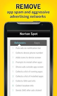 Norton Spot ad detector - screenshot thumbnail