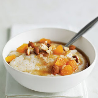Farina with Apricots and Almonds Recipe