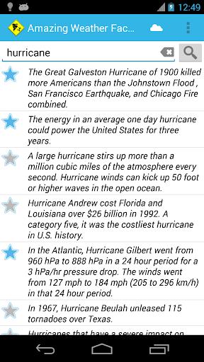 【免費書籍App】Amazing Weather Facts-APP點子
