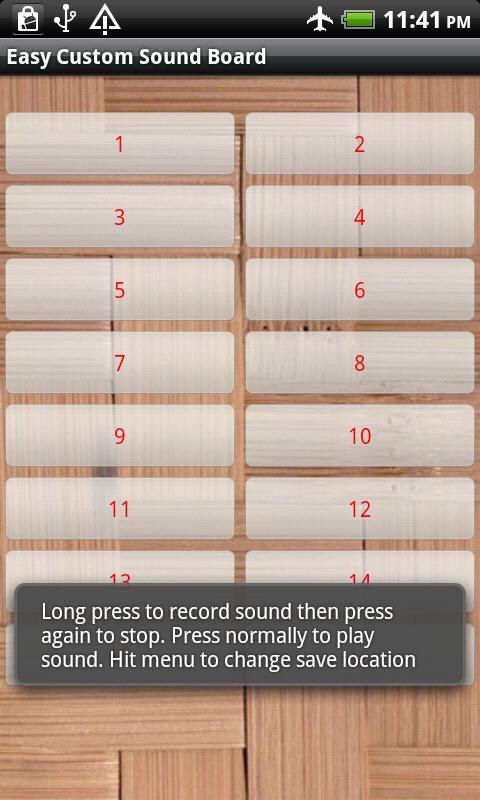 Easy Custom Soundboard - screenshot