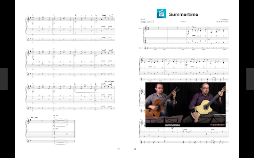 Fingerpicking.net- screenshot thumbnail