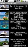 Screenshot of Ship Mate - Disney Cruise Line
