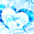 Crystal Heart  Live Wallpaper icon