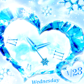 Crystal Heart  Live Wallpaper