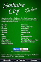Screenshot of Solitaire City®