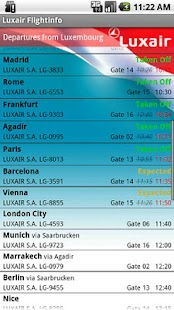 Luxair für Android - screenshot thumbnail