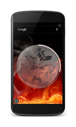 Nightcrawler Clock Uccw Skin