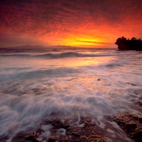 Burning sunset by Einto R - Landscapes Sunsets & Sunrises