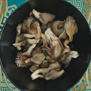 Sautéed Oyster Mushrooms.