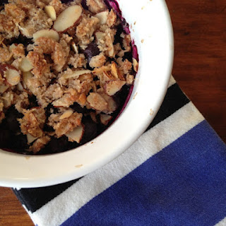 Paleo Blueberry Almond Crisp