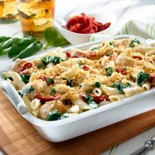 Chicken & Pasta Florentine Casserole.