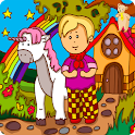 Matthew and the unicorn (Moka) icon