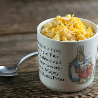 Mac and Cheese in a Mug!.