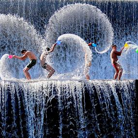 Play Waterfall at Tukad unda - Bali  by DODY KUSUMA  - Babies & Children Children Candids ( kidsofsummer, summer feel, kids playing in the summer, , #GARYFONGDRAMATICLIGHT, #WTFBOBDAVIS )