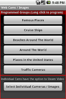 Screenshot of Web Cameras / Images 1.5