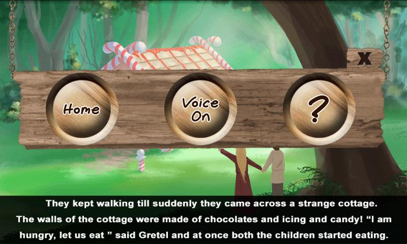 Hansel and Gretel : Story Time - screenshot
