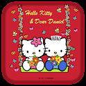 Hello Kitty & Daniel Theme icon