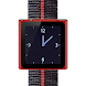 Red Nano Wrist Watch Clock