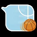 GO SMS basketball bubble Theme