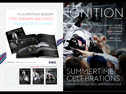 iGNITION The Williams Magazine- screenshot thumbnail