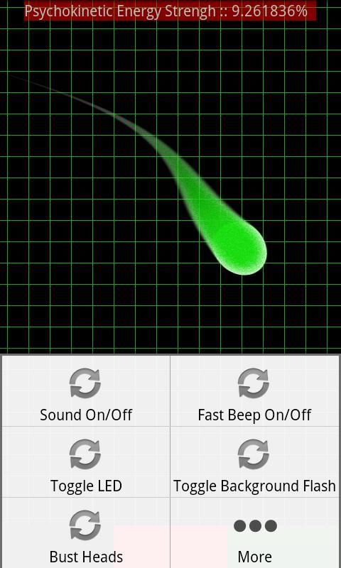 Ghost Meter - PKE Detector- screenshot