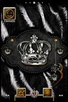 Screenshot of ADWTheme Crowned Zebra