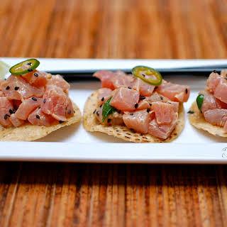 Tuna Ceviche.