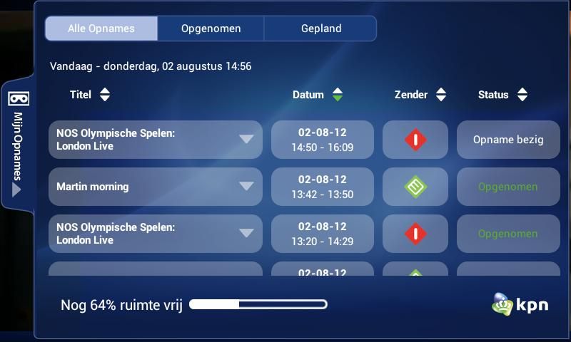 KPN iTV Online- screenshot