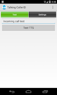 Talking Caller ID Calls & SMS - screenshot thumbnail