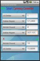 Screenshot of Smart Currency Converter