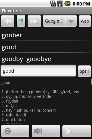 Fluent English (old) - screenshot