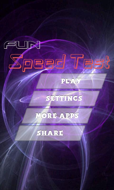 Speed Test - screenshot