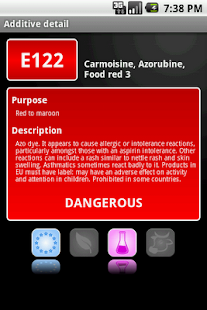 E-inspect Food additives - screenshot thumbnail