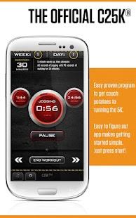 C25K® - 5K Trainer FREE - screenshot thumbnail