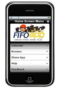 FIFO App Work Roster - screenshot thumbnail