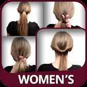 Womens Hairstyles tutorial