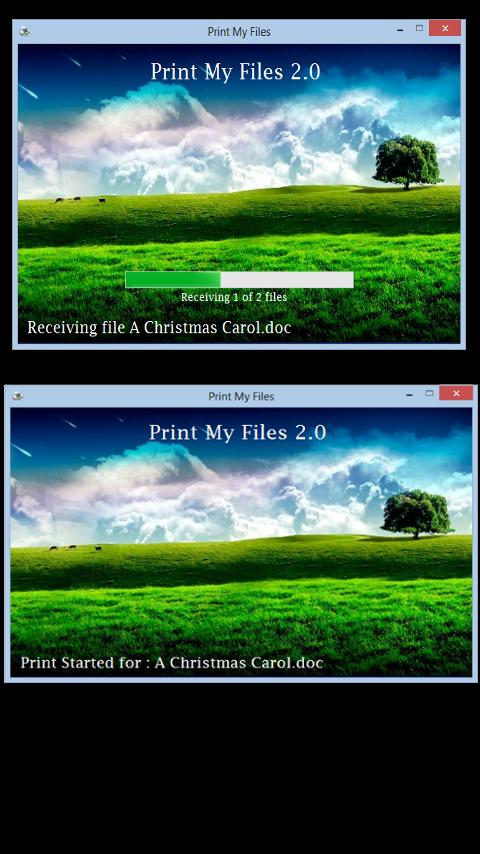Print My Files - screenshot