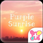 ★FREE THEMES★Purple Sunrise