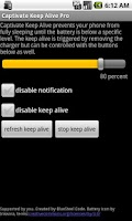 Screenshot of Captivate Keep Alive Pro