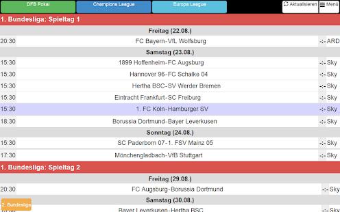 fußballergebnis deutschland