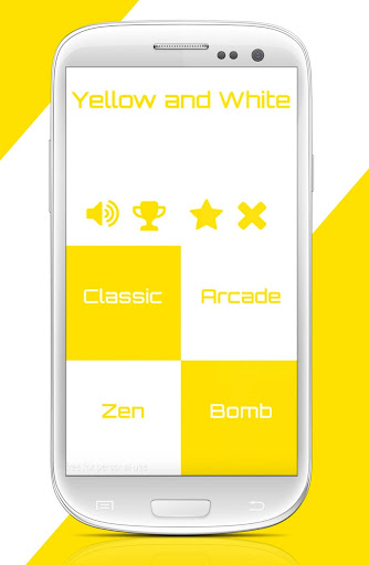 Tap Yellow Piano Tiles