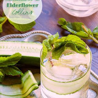 Cucumber and Elderflower Collins