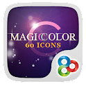 Magic Color GO Launcher Theme icon